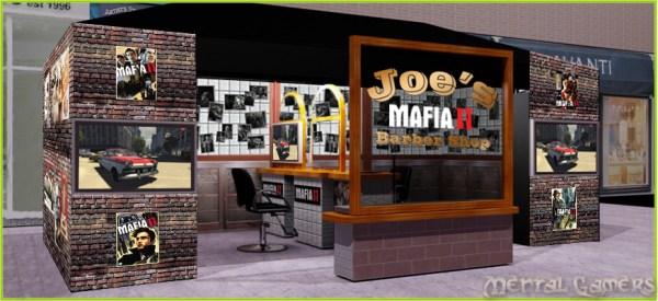 Mafia II Barber Shop
