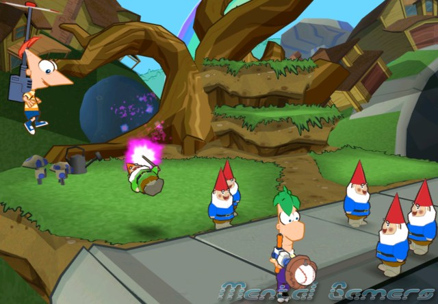Phineas&FerbGnomes