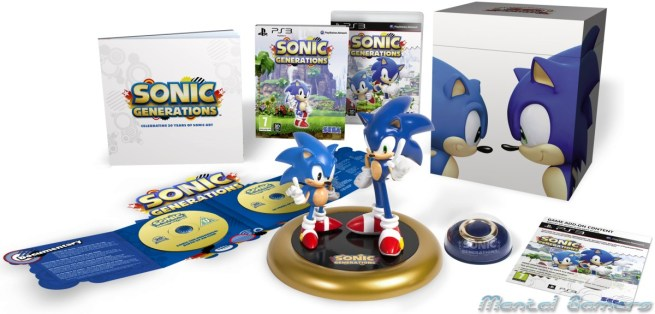 Sonic Generations Collectors Edition UK PS3