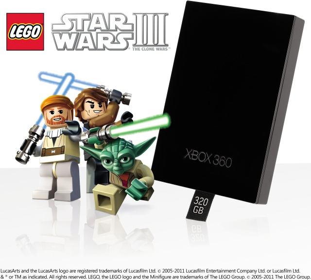 LEGO Star Wars 320GB Promo