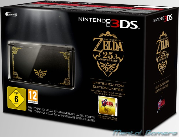 Zelda 25th Anniversary 3DS