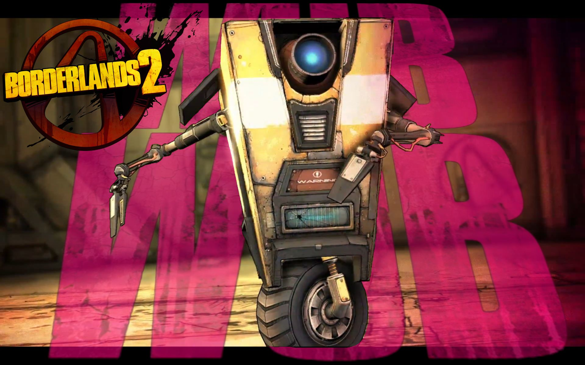 Pics For > Borderlands 2 Wallpaper Claptrap