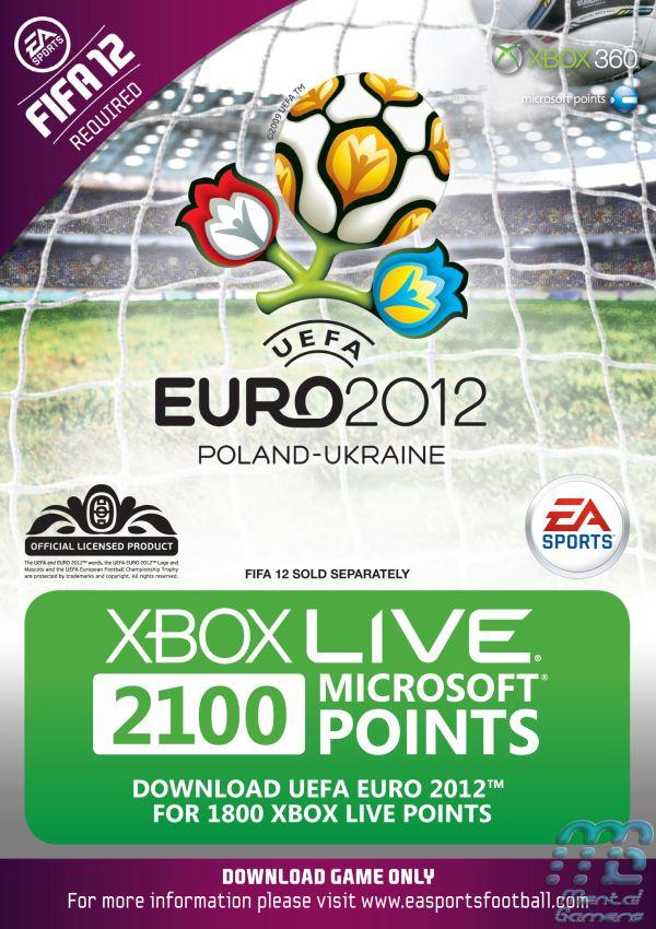 EURO 2012 2100 MSP Card