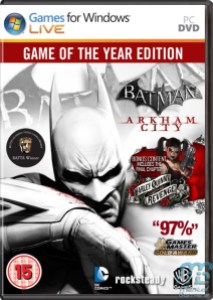 Batman Arkham City PC Pack