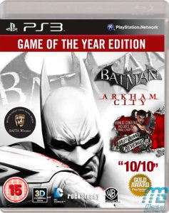 Batman Arkham City PS3 Pack