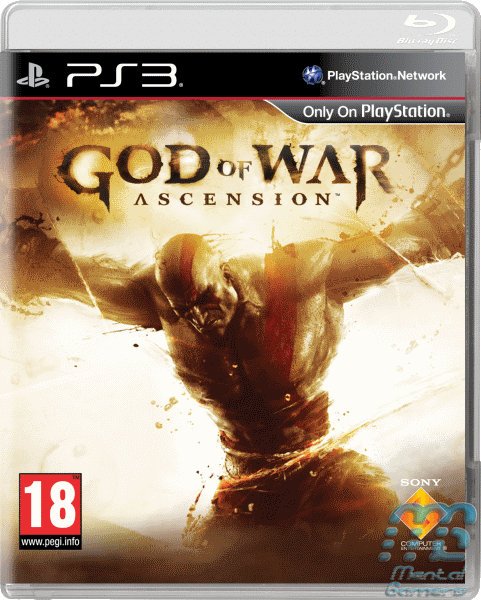 God of War Ascension Packshot