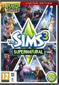 Sims 3 Supernatural UK Pack