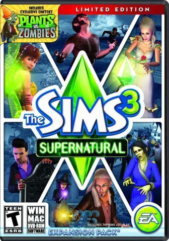 Sims 3 Supernatural US Pack