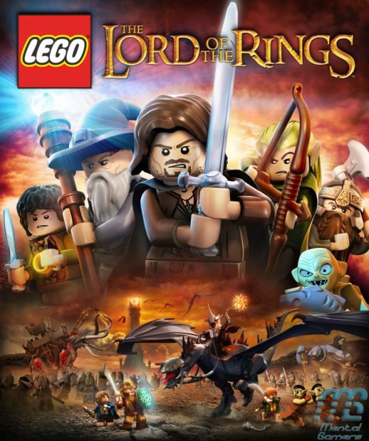 LEGO LotR Cover