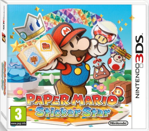 Paper Mario Sticker Star Packshot