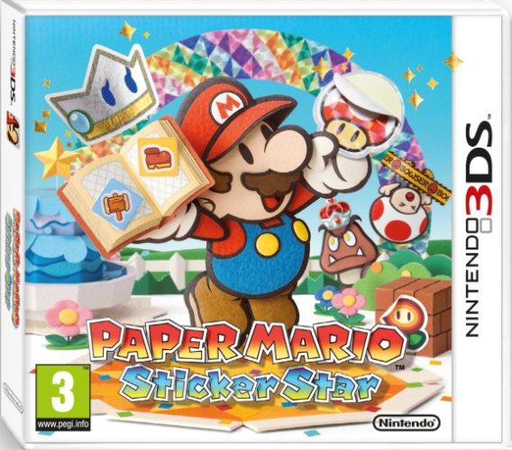 Paper Mario Sticker Star Packshot