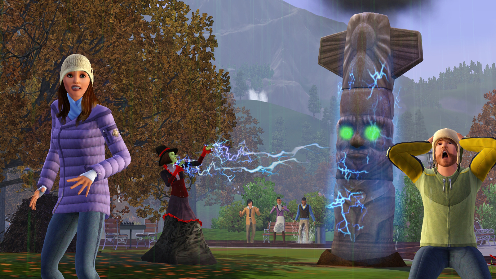 how to become a witch in sims 3