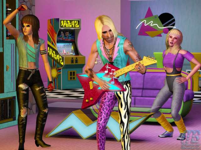 The Sims 3 70s 80s 90s Stuff 02