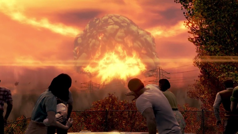 Fallout 4 Nuclear Blast
